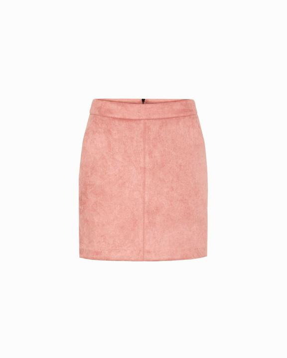 falda ante color melocotón