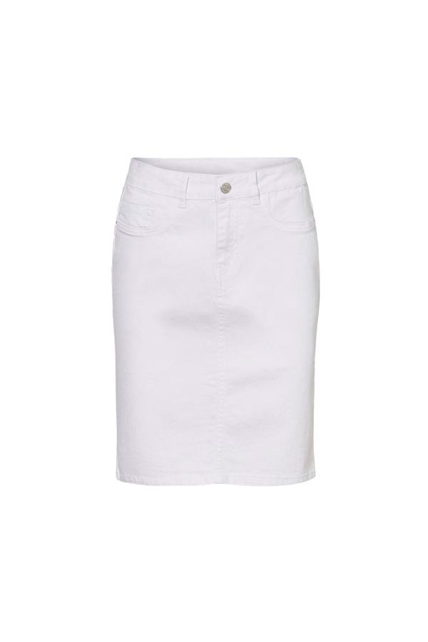 falda ceñida para marcar caderas