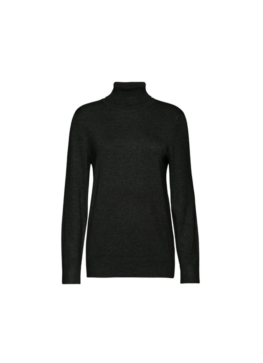 jersey cuello cisne negro