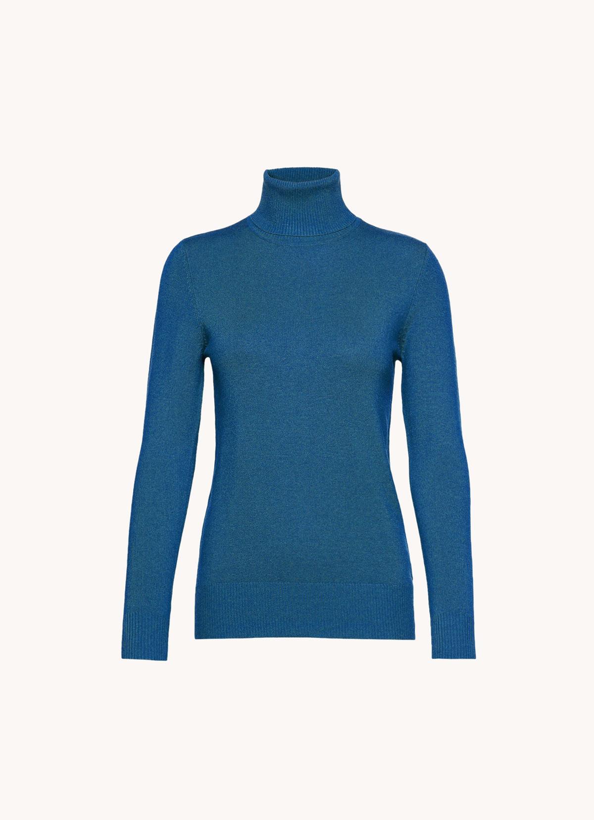 jersey cuello cisne classic blue