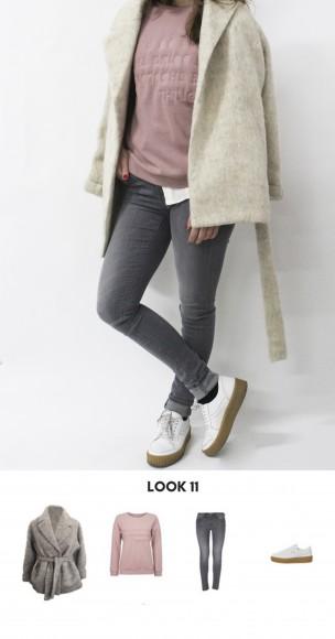 look casual con sneakers