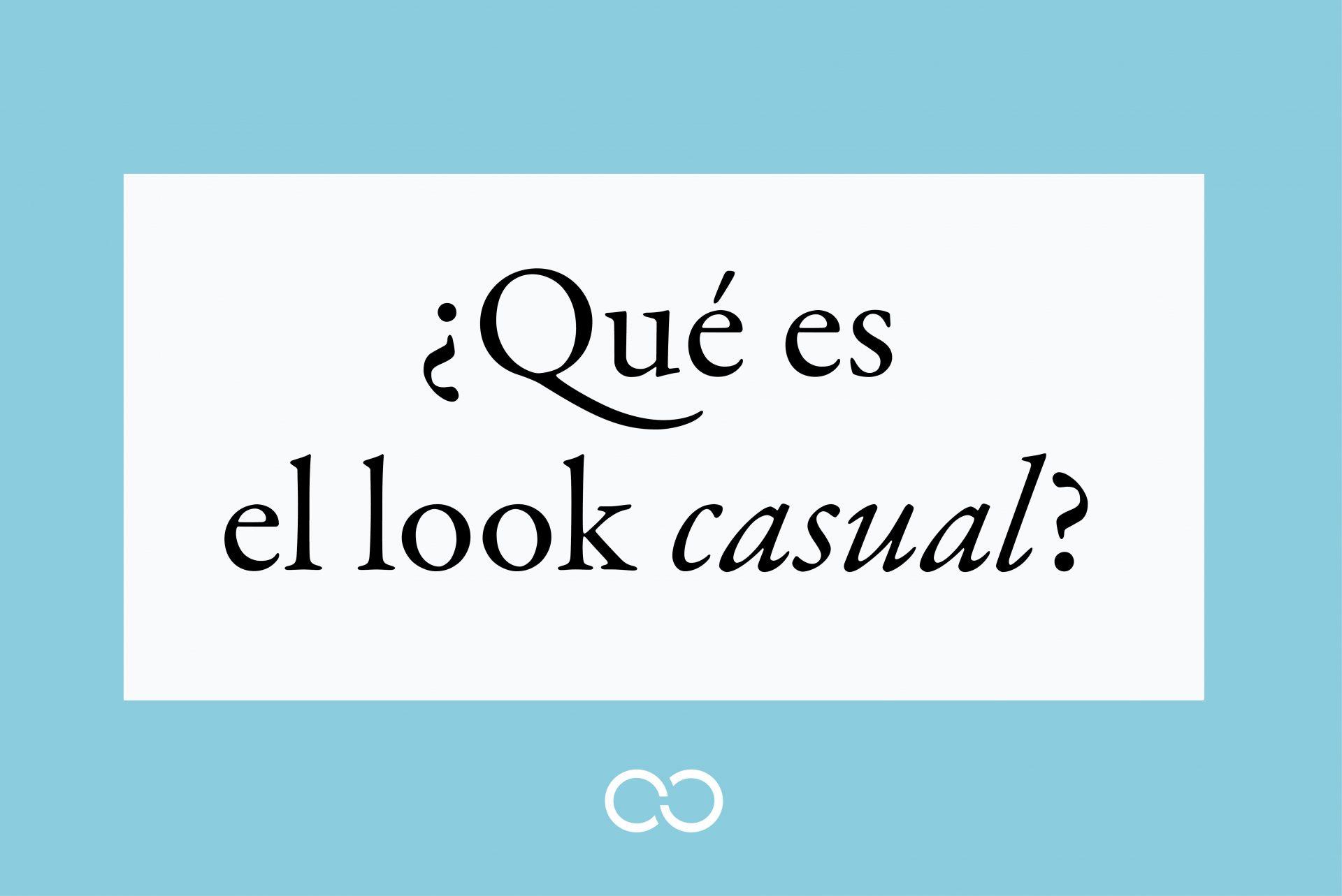 ¿Qué es el look casual? Portada