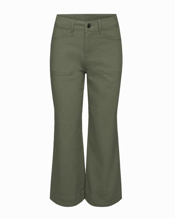 pantalones verde kaki