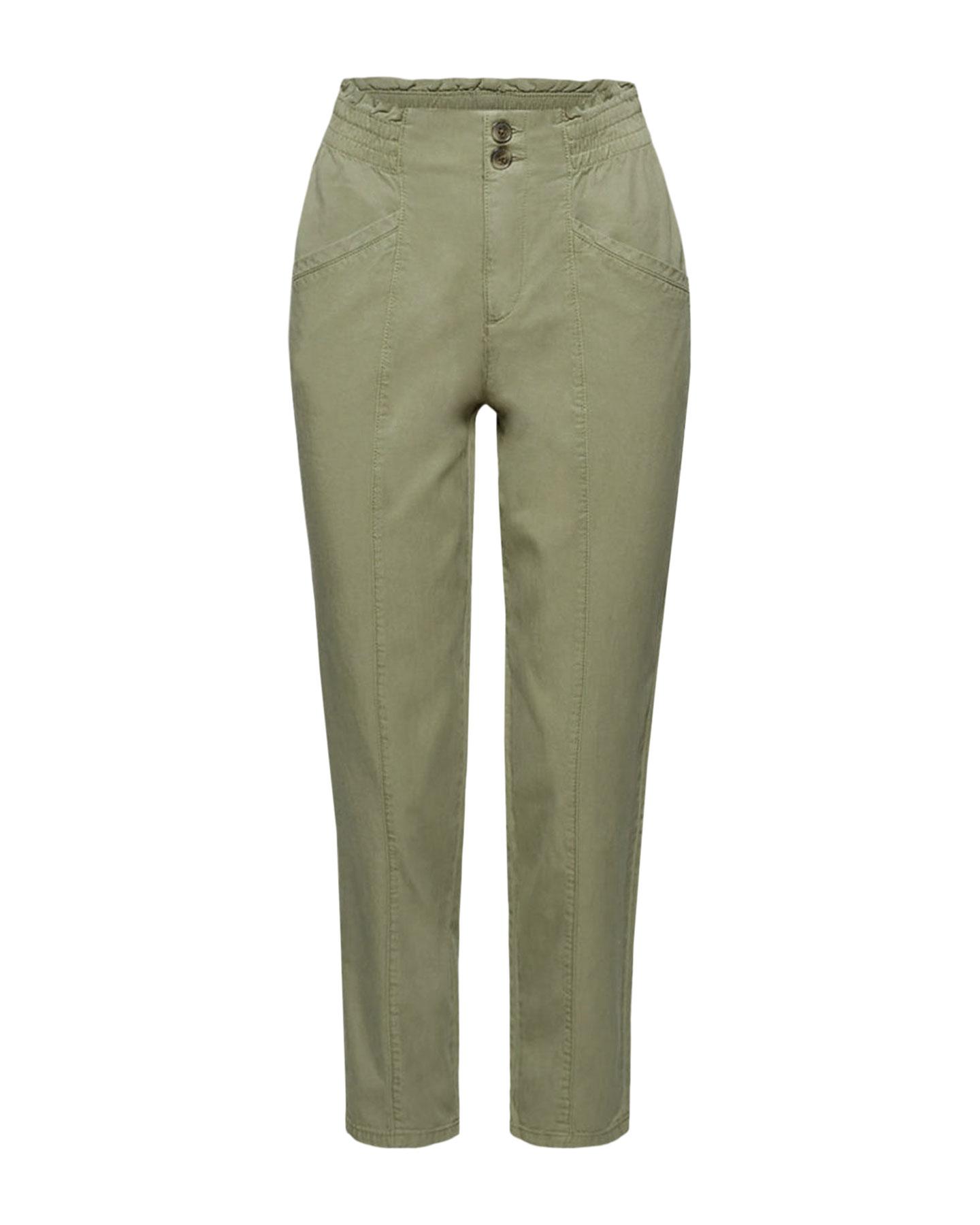 pantalon verde caqui look comfy