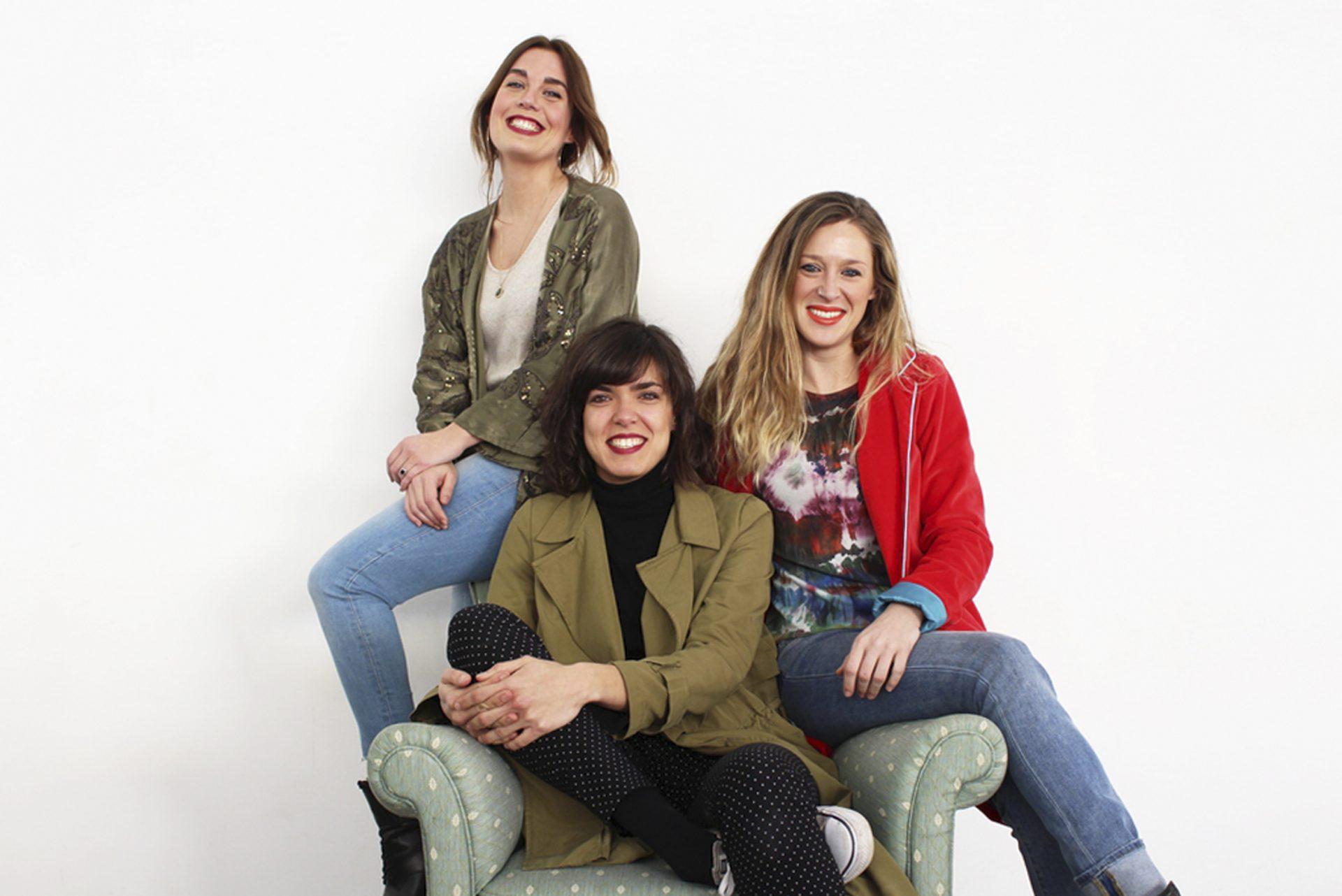 Laura, Mai y Victoria personal shoppers de lookiero