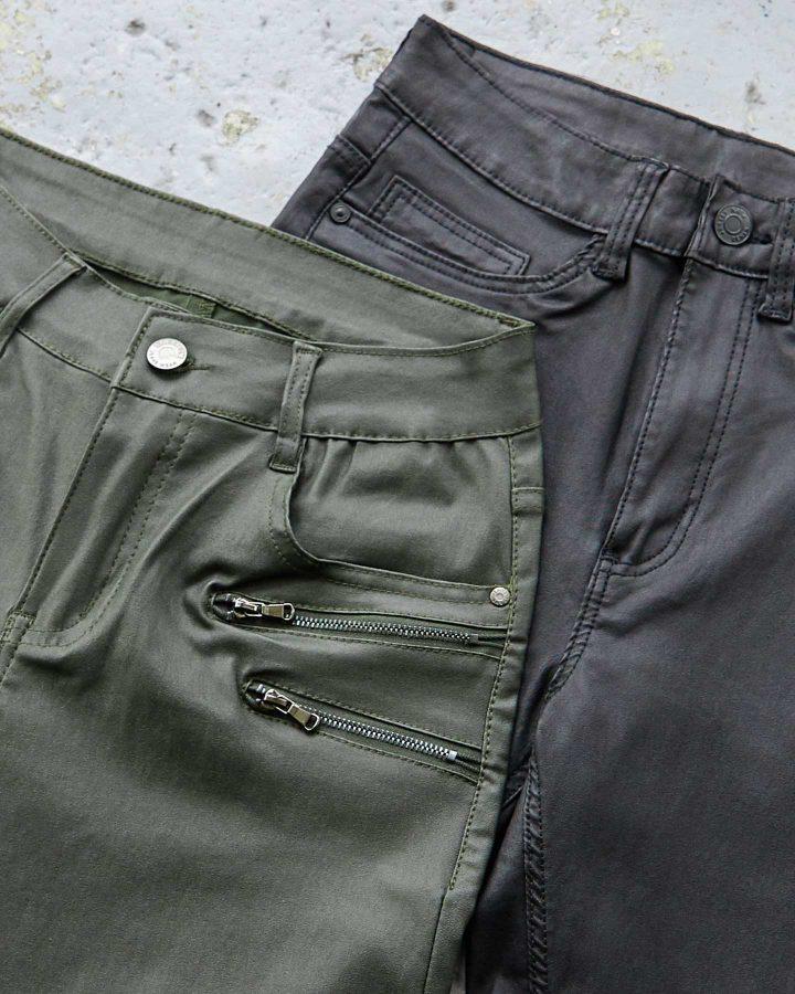 combinar pantalón efecto piel