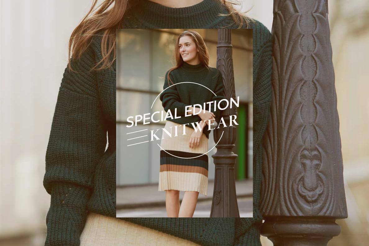 special edition knitwear