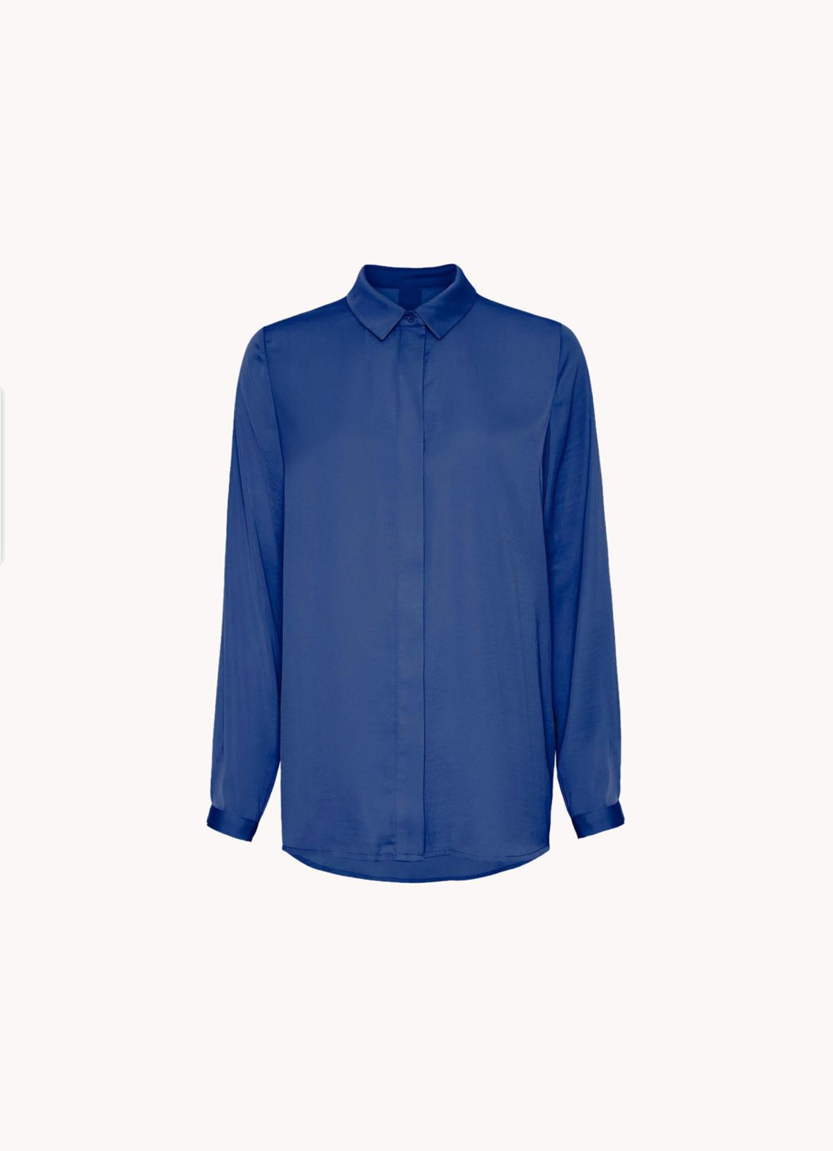 camisa fluida classic blue