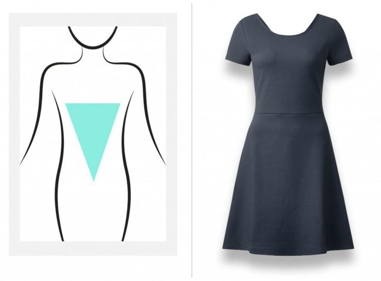 Vestidos para cuerpo triángulo invertido
