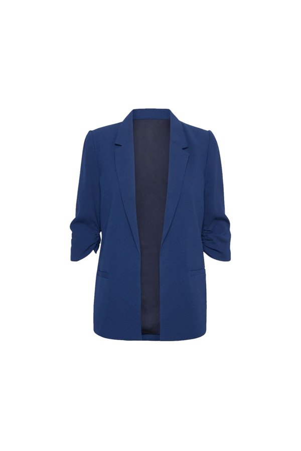 blazer azul marina armario capsula oficina