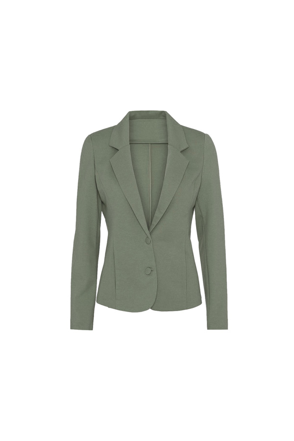 The fitted blazer