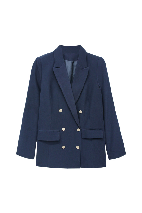 blazer masculina estilo navy