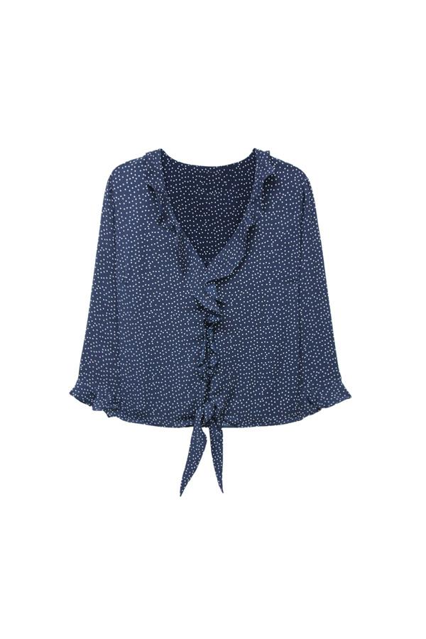 blouse faite noeuds