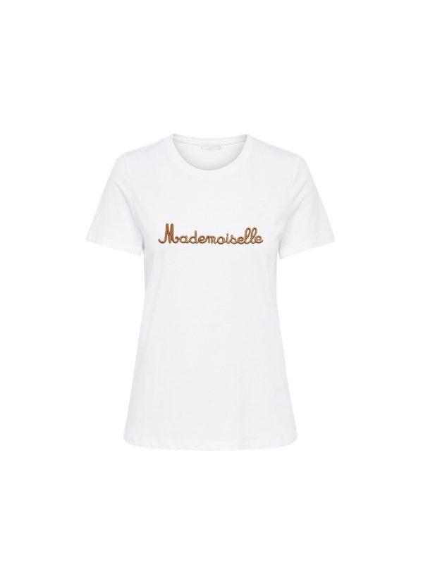 camiseta con mensaje armario capsula primavera