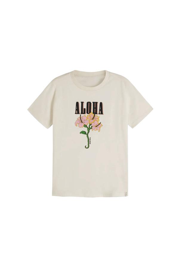 camiseta con mensaje estilo surfero