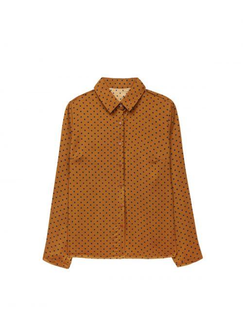chemise a pois