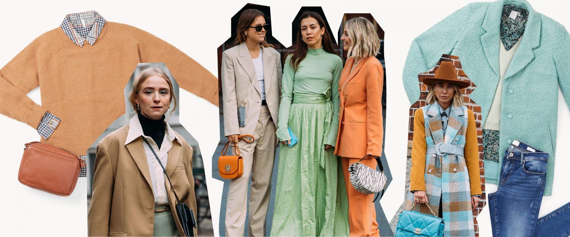 Che Colore Abbinare Al Giallo 5 abbinamenti di colori tendenza primavera estate 2020 per