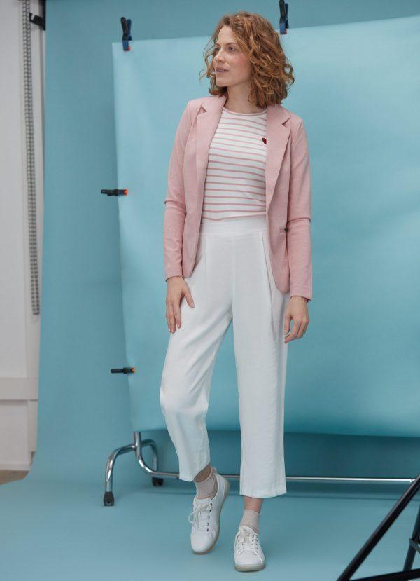 rose pastel tenue