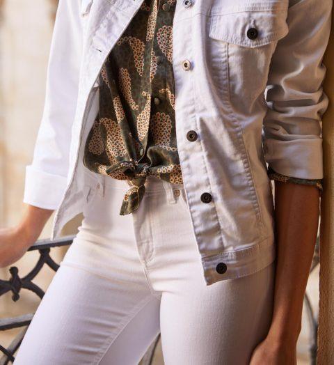 Como Combinar Un Pantalon Blanco Este Verano 2020 Lookiero Blog
