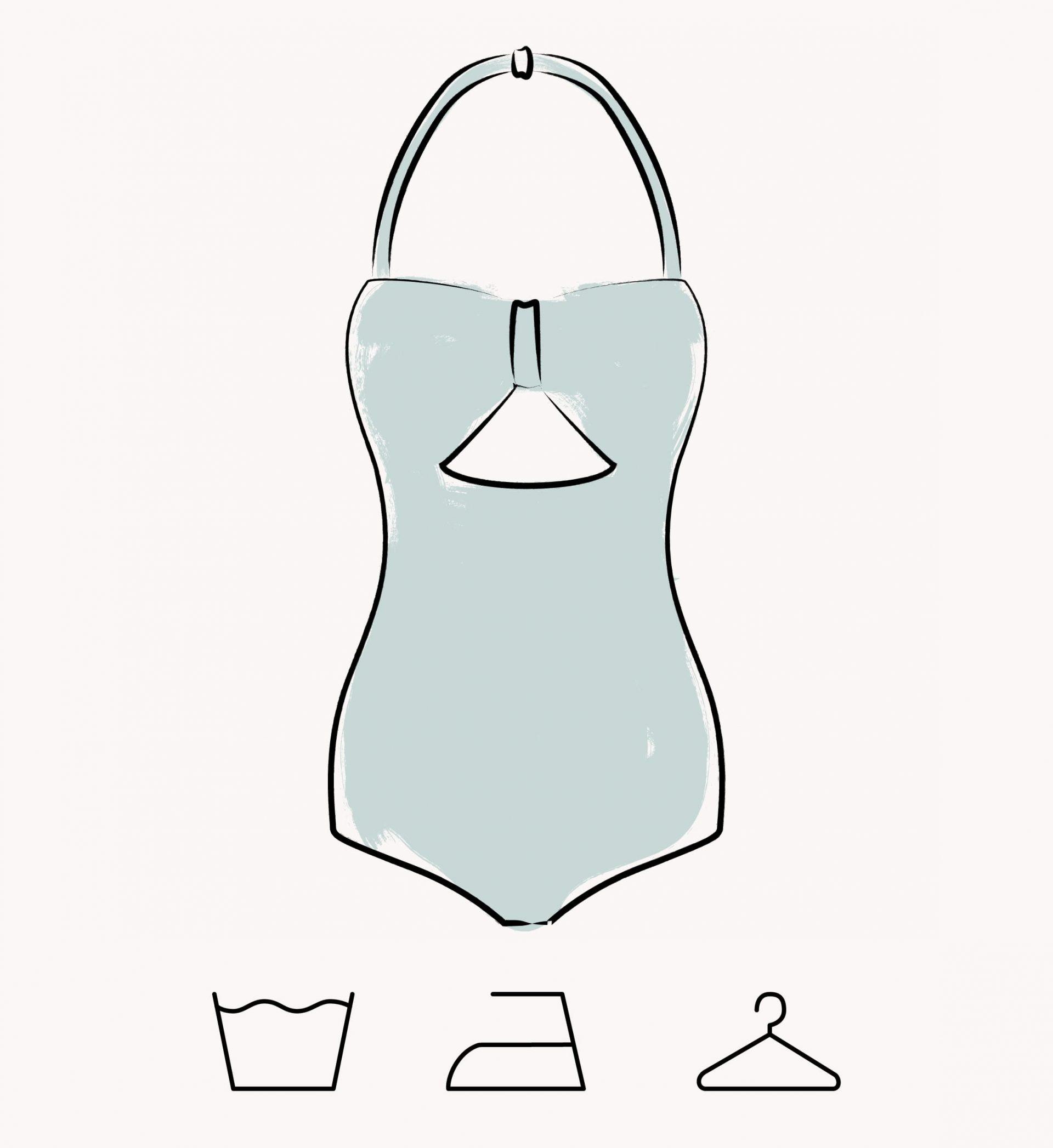 como lavar tus bikinis y bañadores