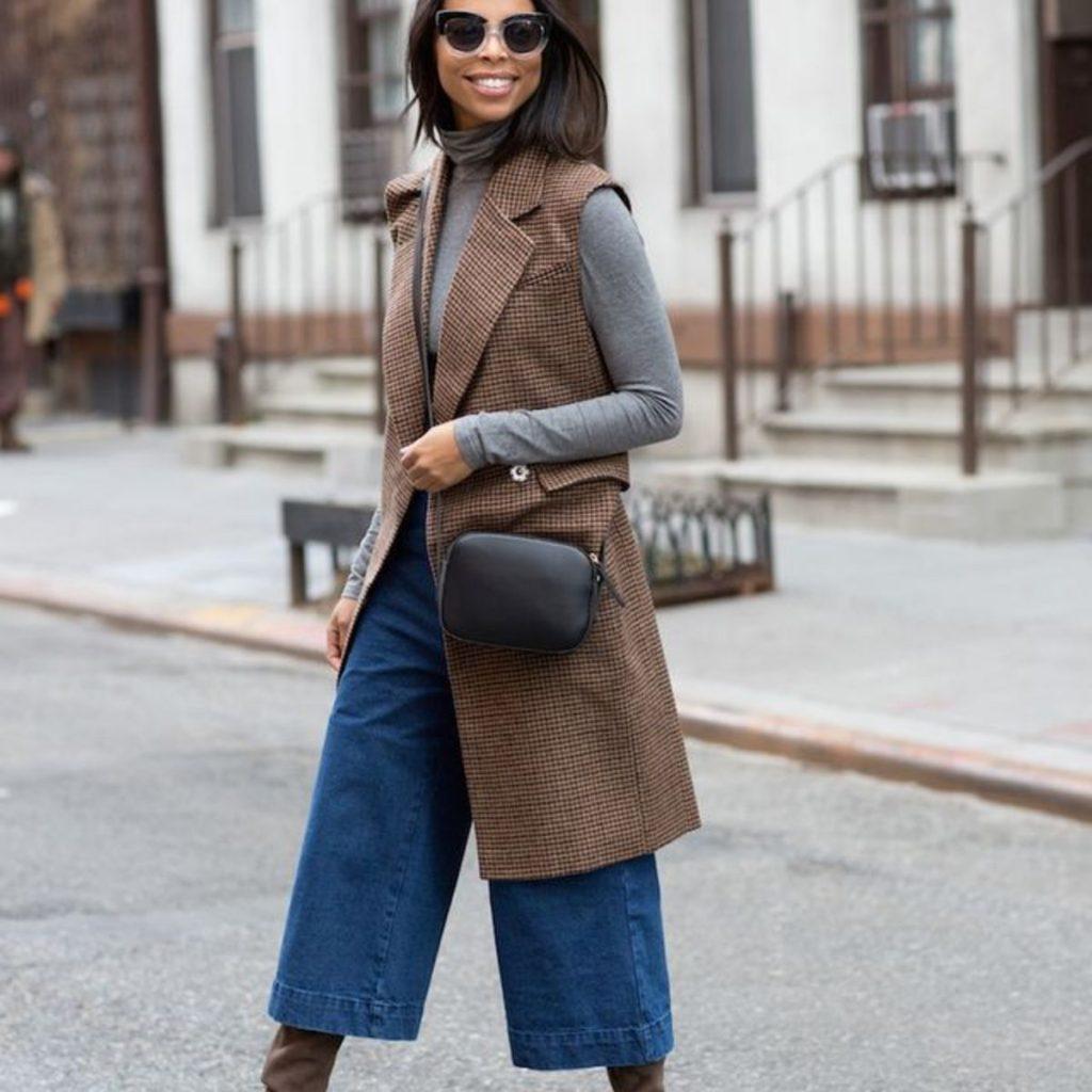 culotte jeans inspiration