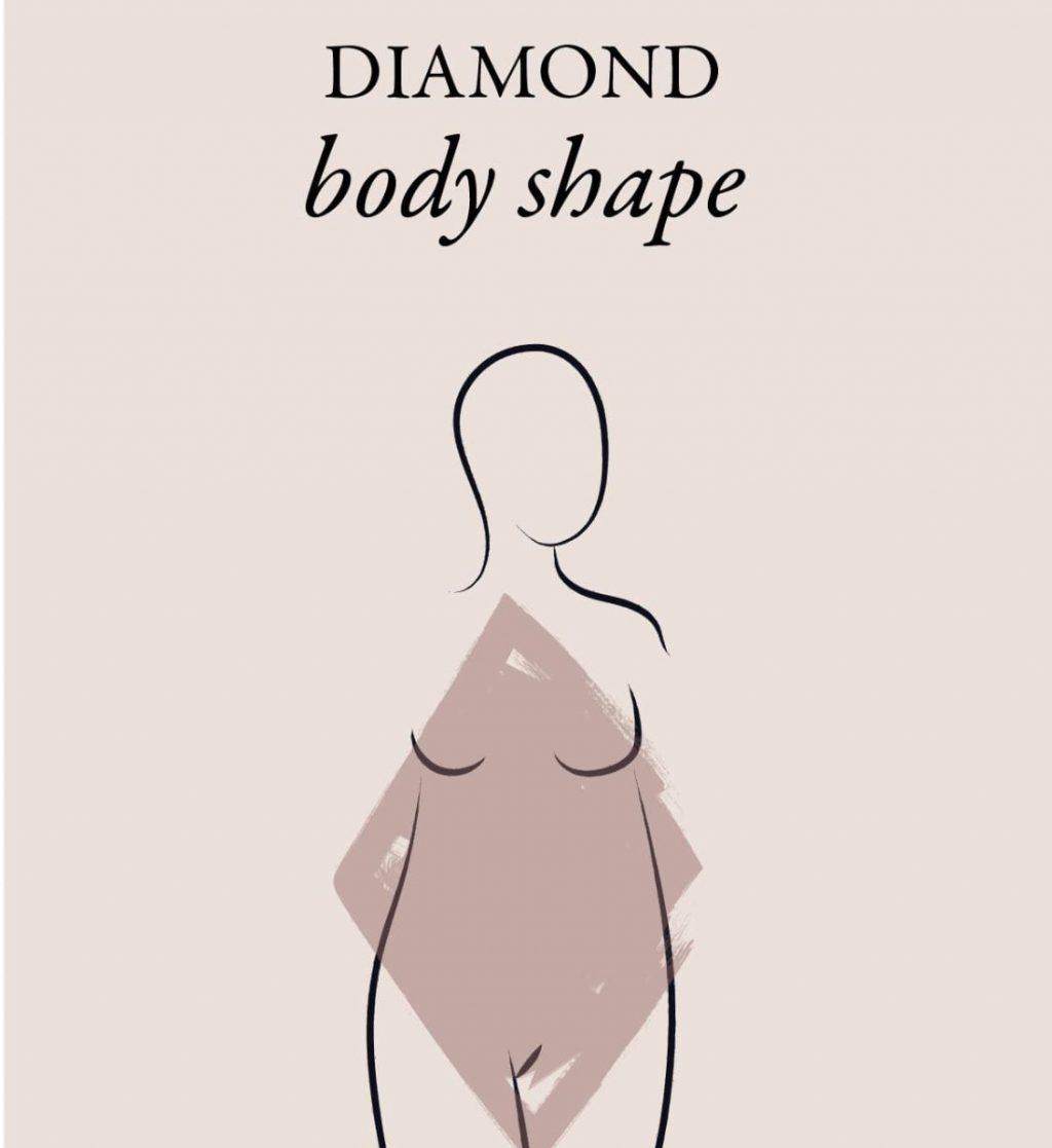 What is a diamond body type? - Lookiero Blog