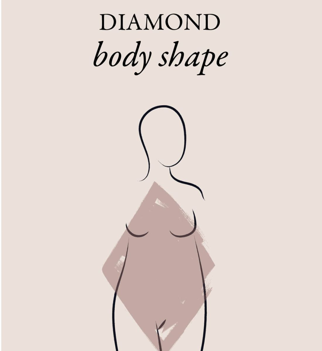 What is a diamond body type?