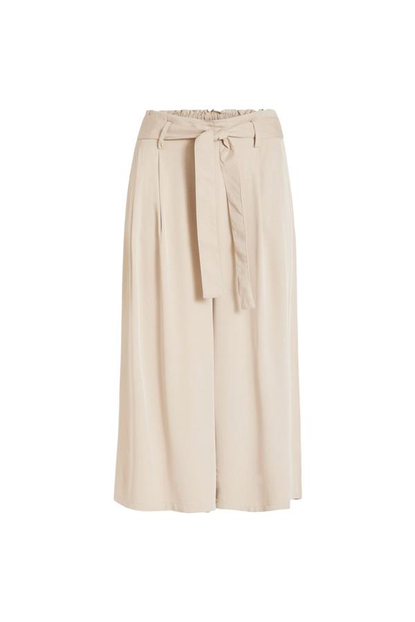 La jupe-culotte longue