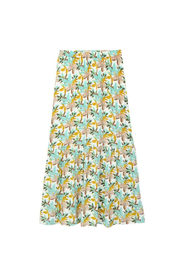 falda estilo boho
