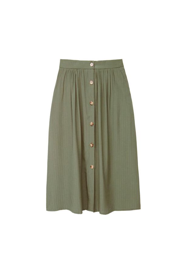 falda safari estilo boho