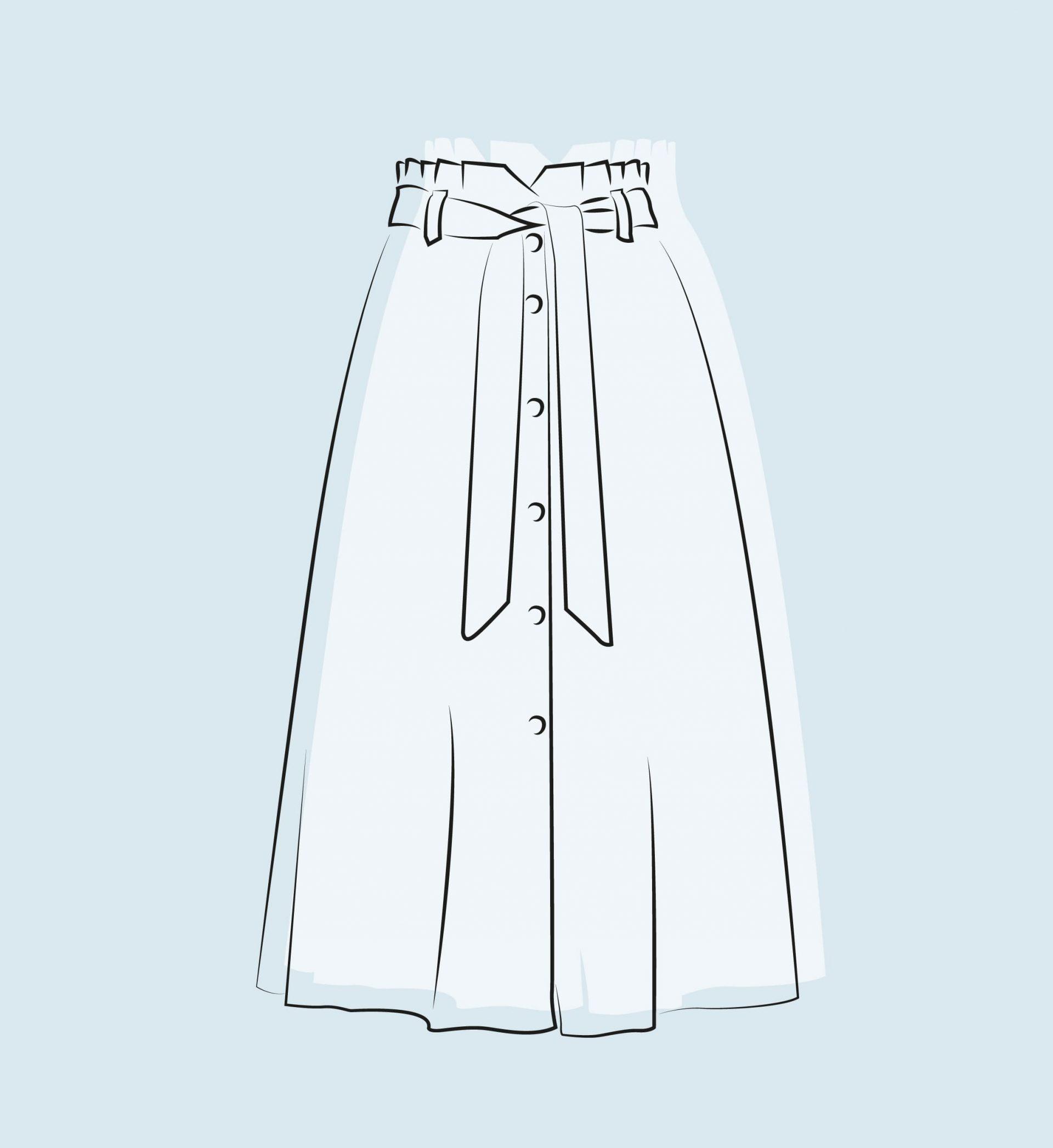 glosario de faldas