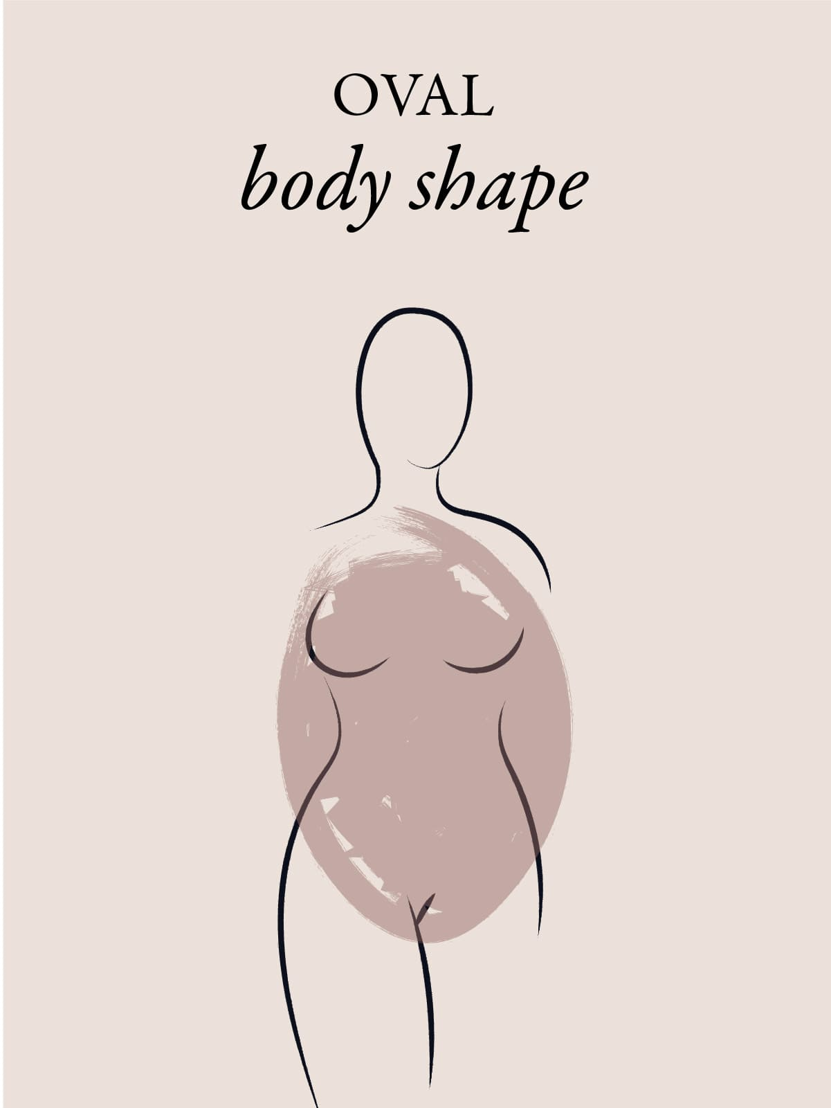 oval body shape