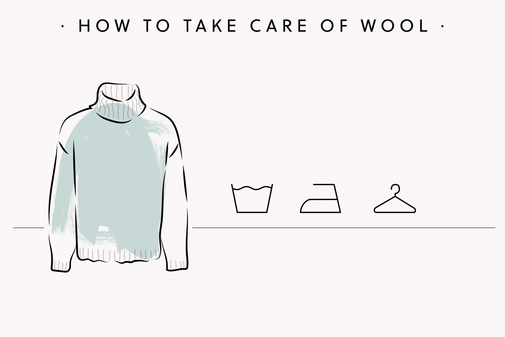 how to take care of wool