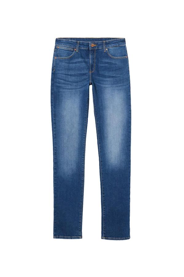 jeans rectos armario capsula oficina