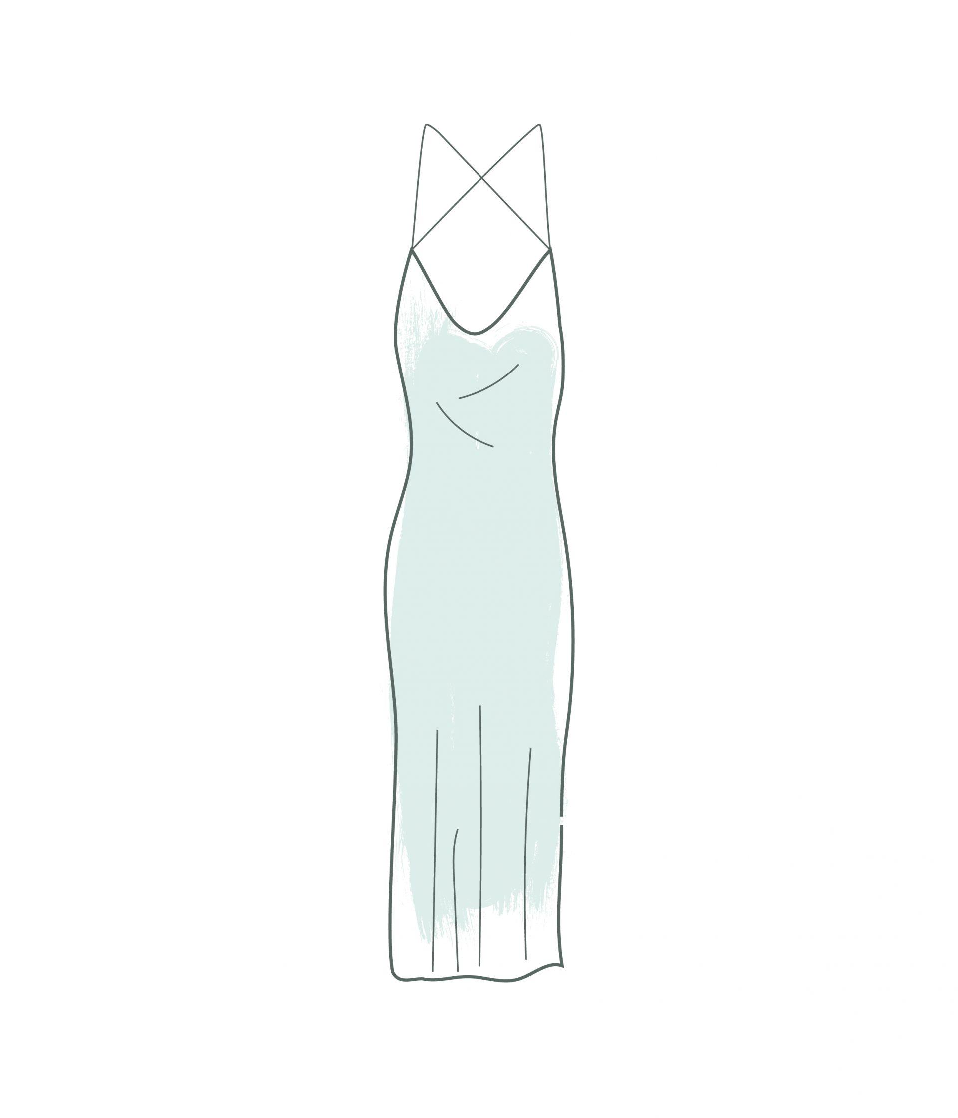la slip dress