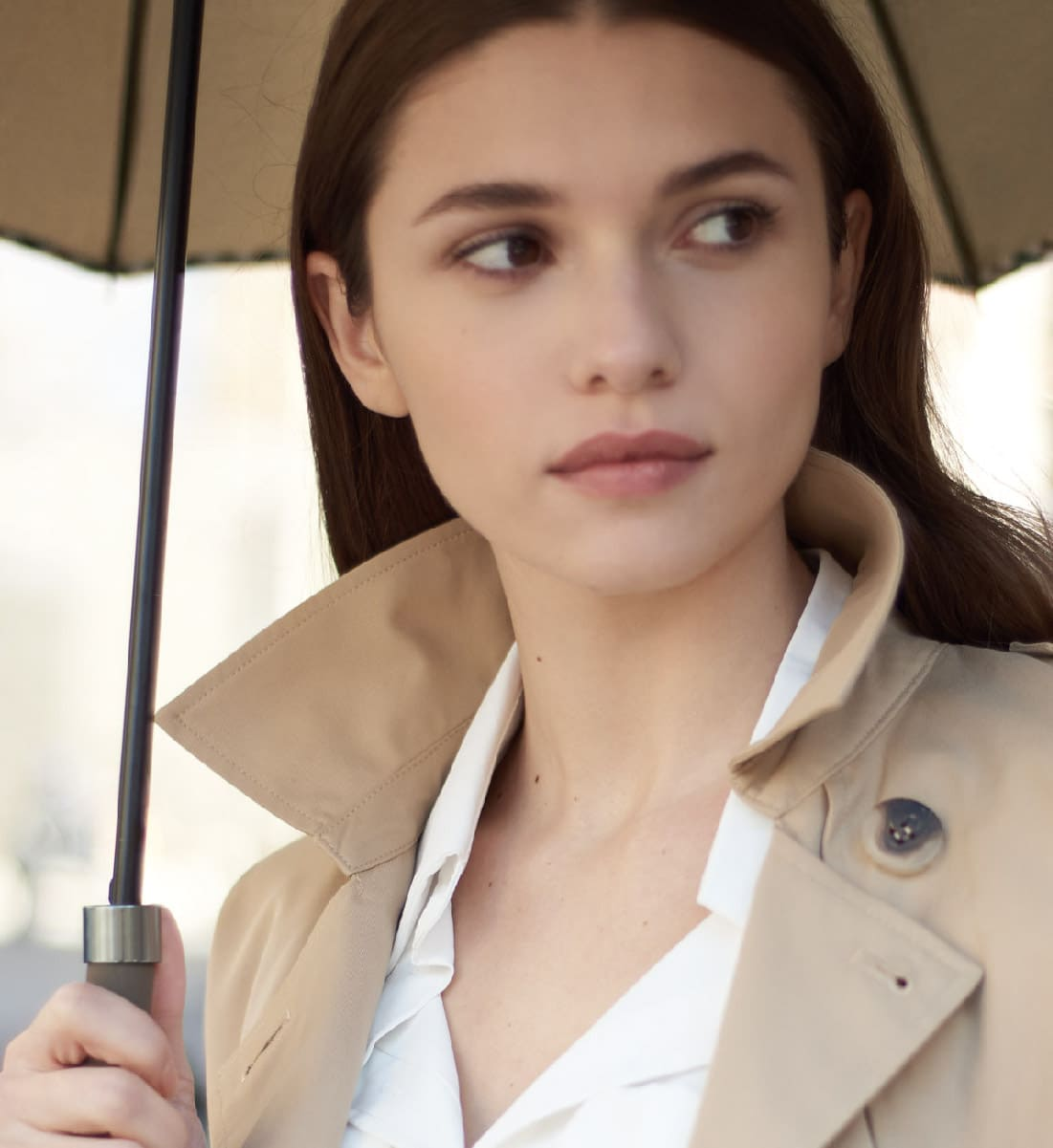 Trench or raincoat? The summer outwear