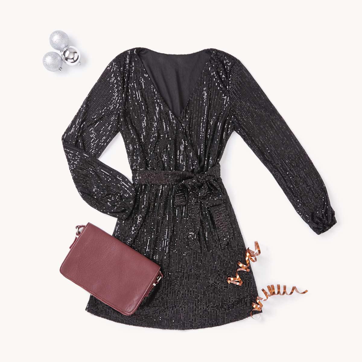 LBD (Little Black Dress)  en version shiny