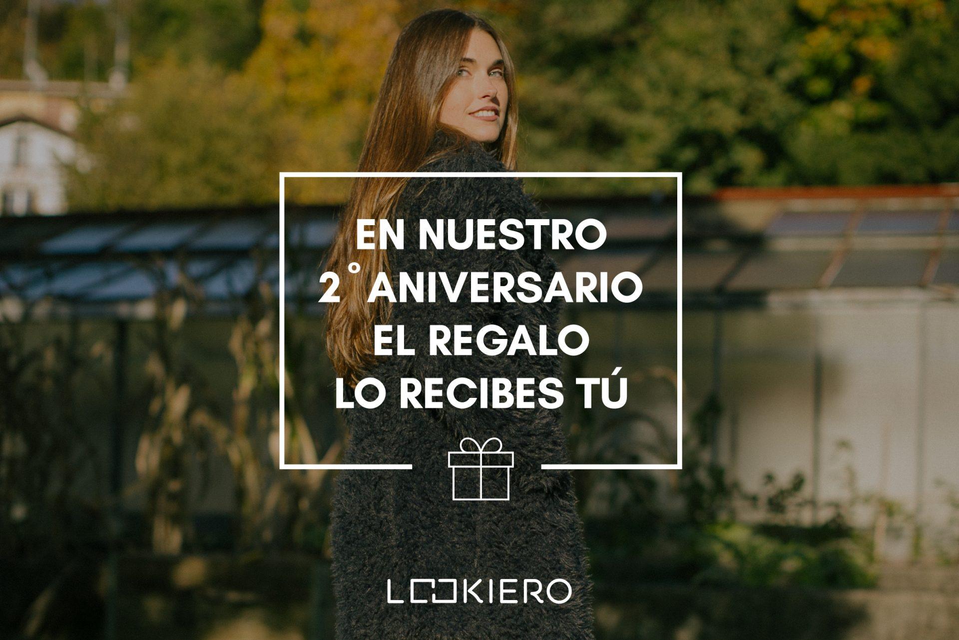 Sorteo aniversario de Lookiero España