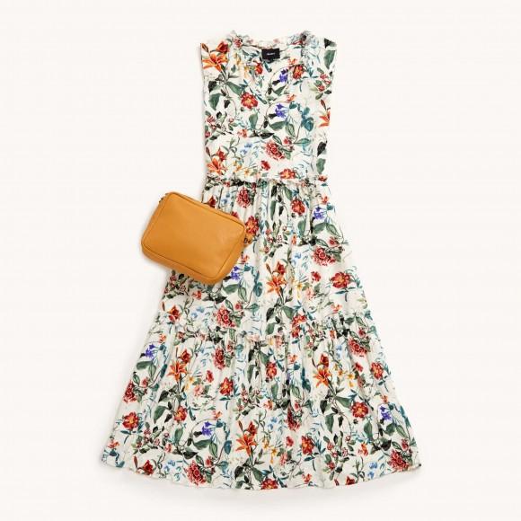 robe longue florale