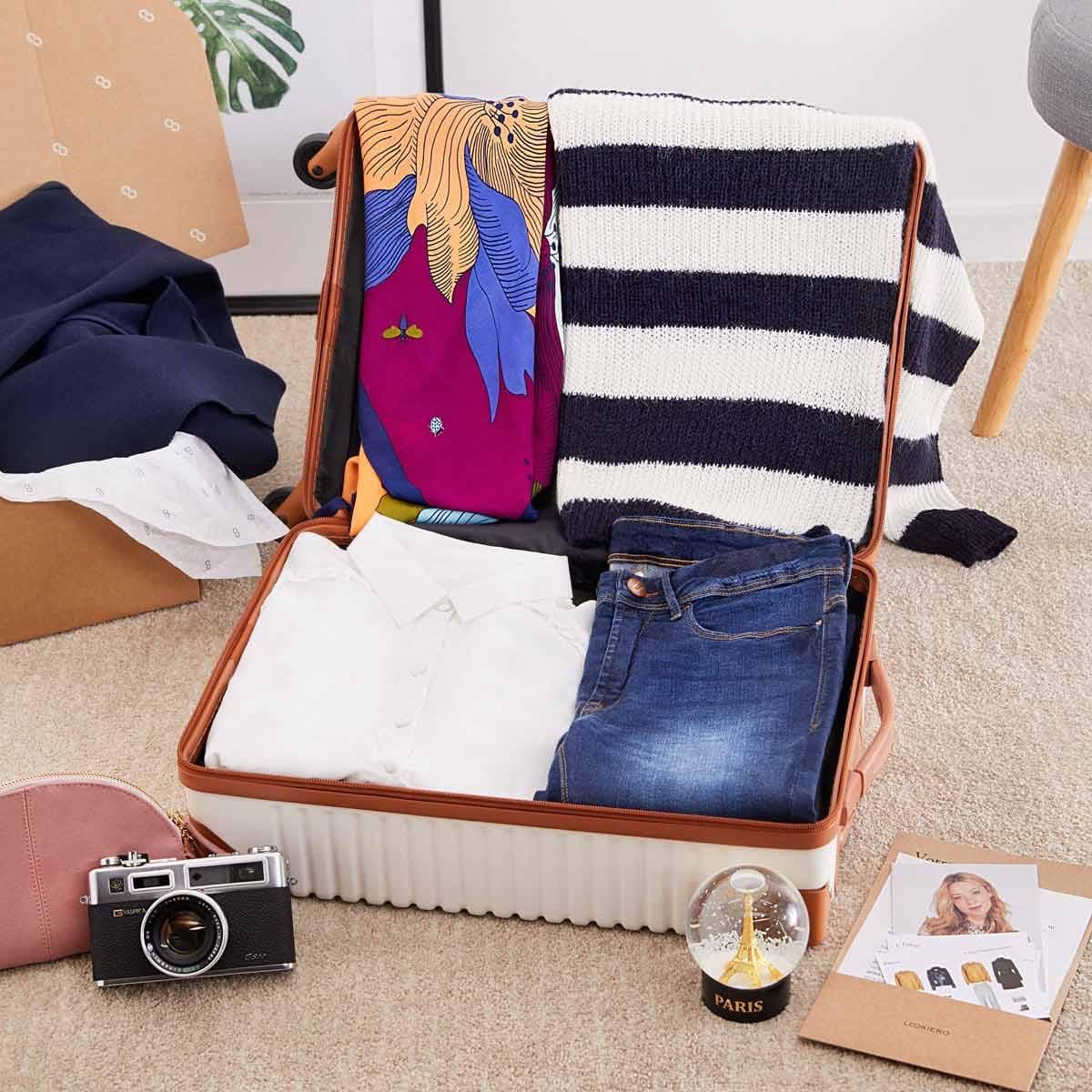 look maleta viaje Paris