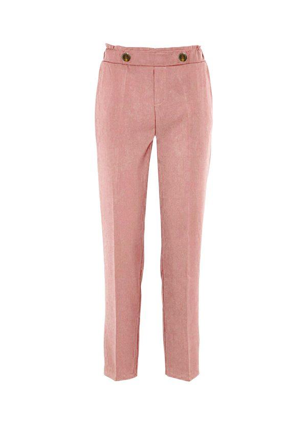 pantalon rosa pastel armario capsula primavera
