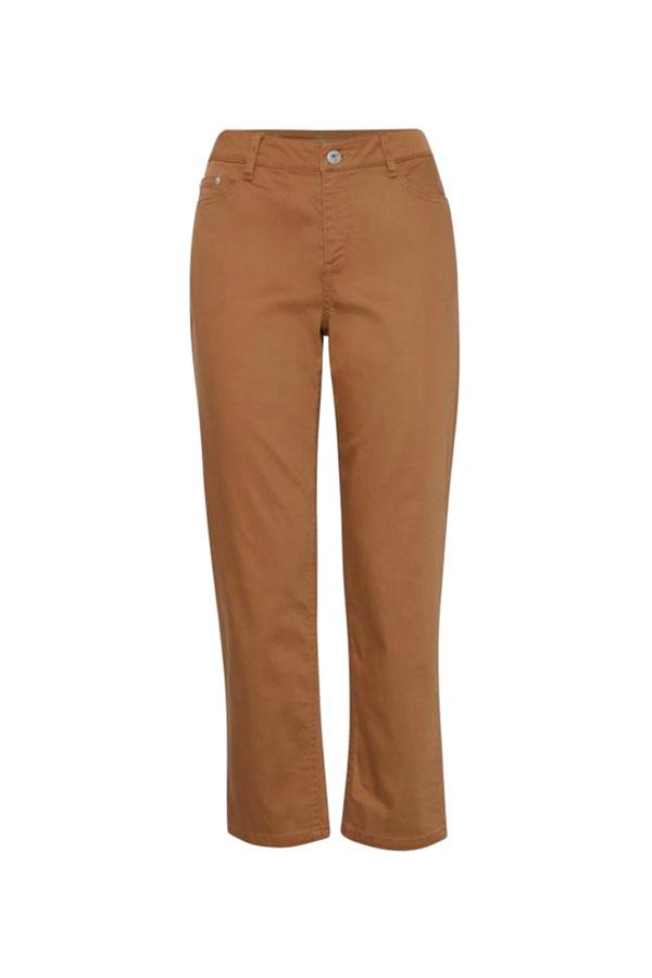 pantalon taille haute losange