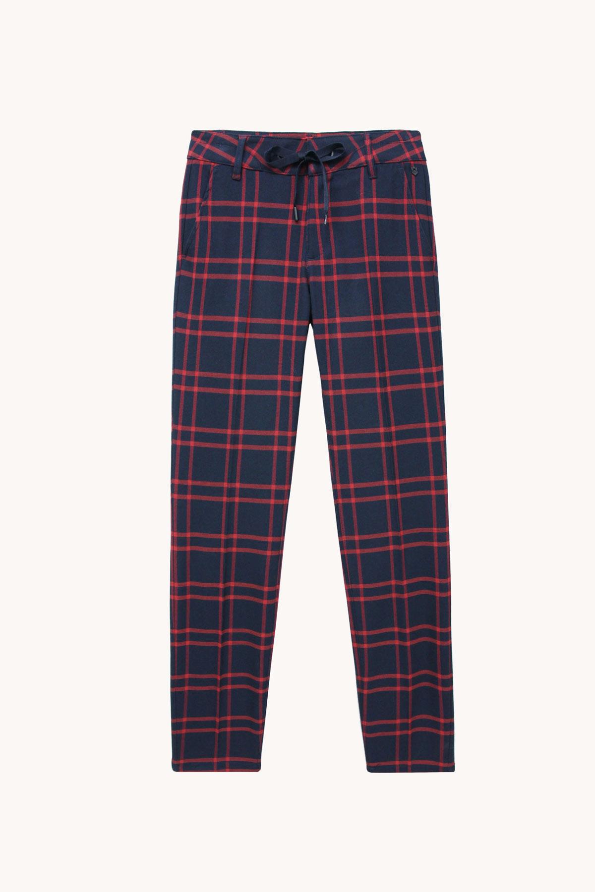 pantalón tartan