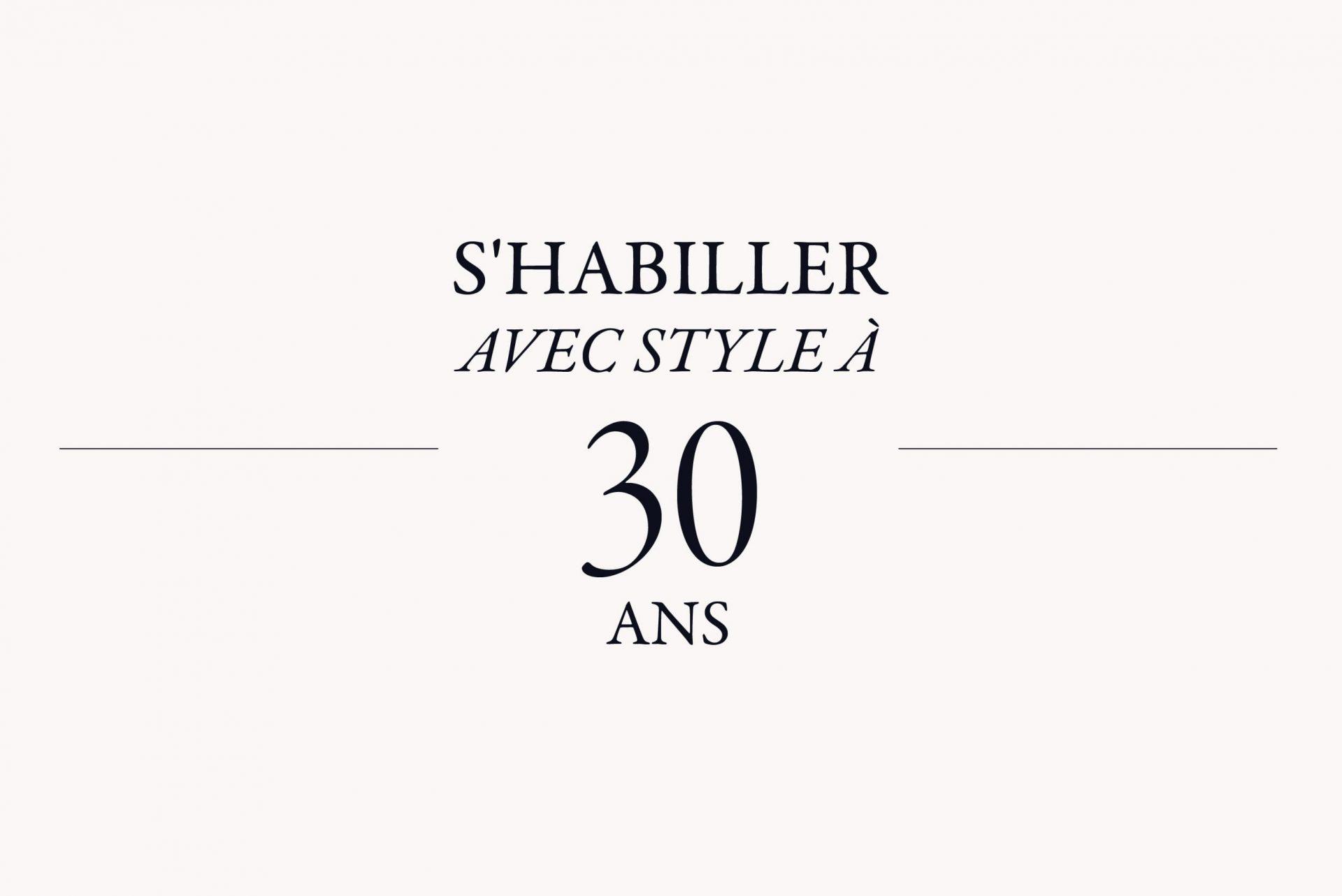 S'habiller avec style à 40 ans