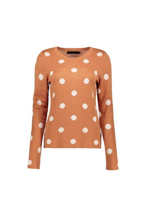 polka dots jumper