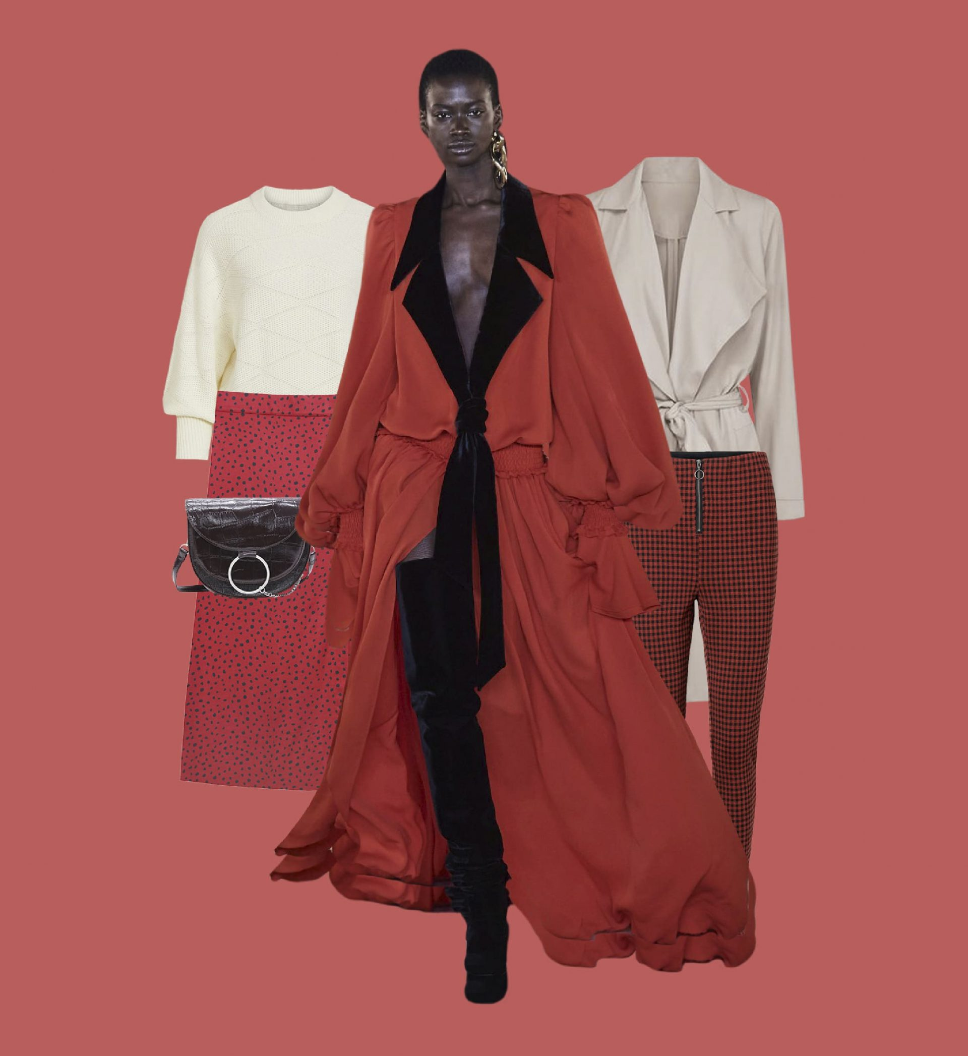 Comment porter le rouge cet automne-hiver 2020-2021