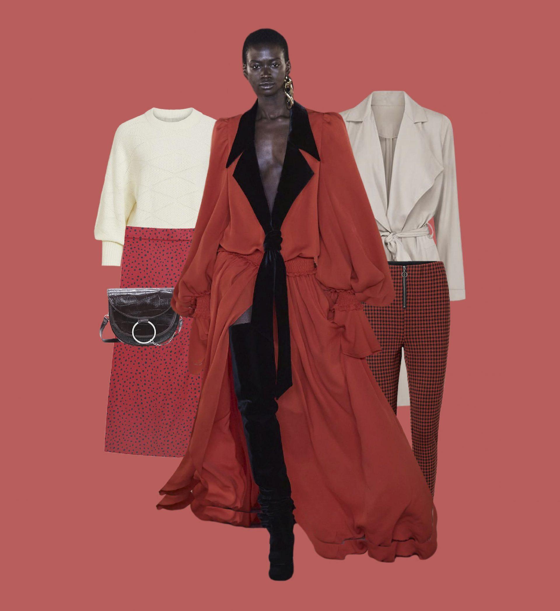 como combinar el color rojo este otoño invierno 2020 2021