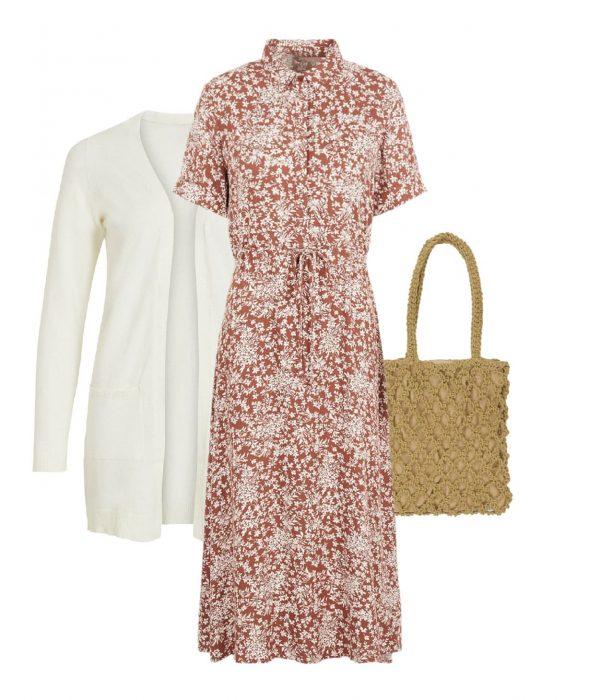 robe fleurs pour look boho