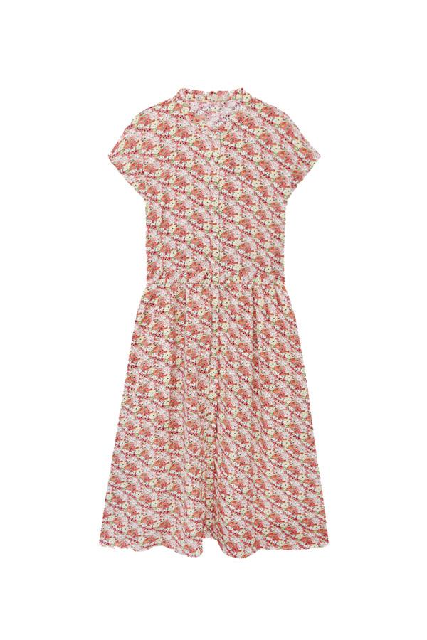 la robe à fleurs