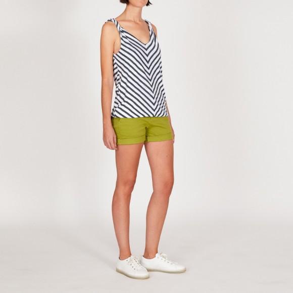 shorts para cuerpo rectángulo